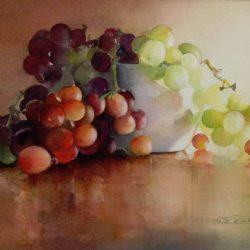 Watercolor by Hettie Rowley