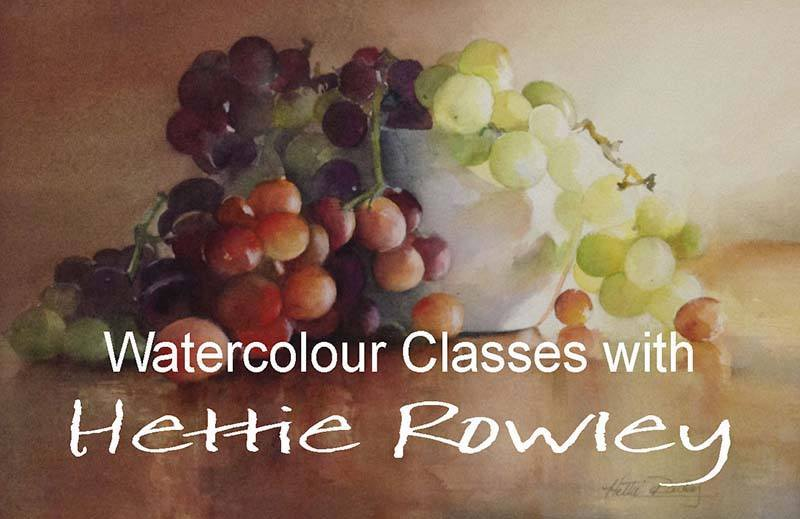 Watercolor Classes April 2017