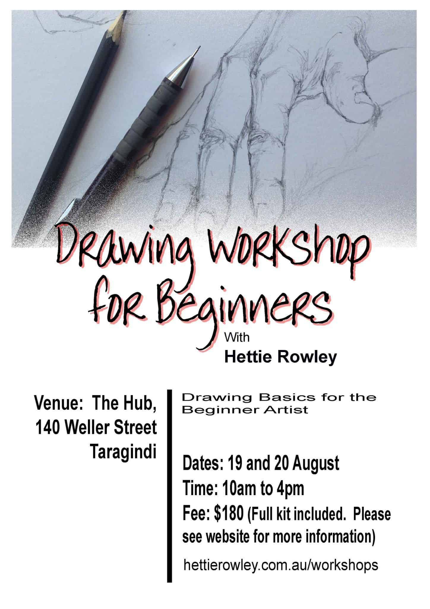 Drawing workshop for beginners