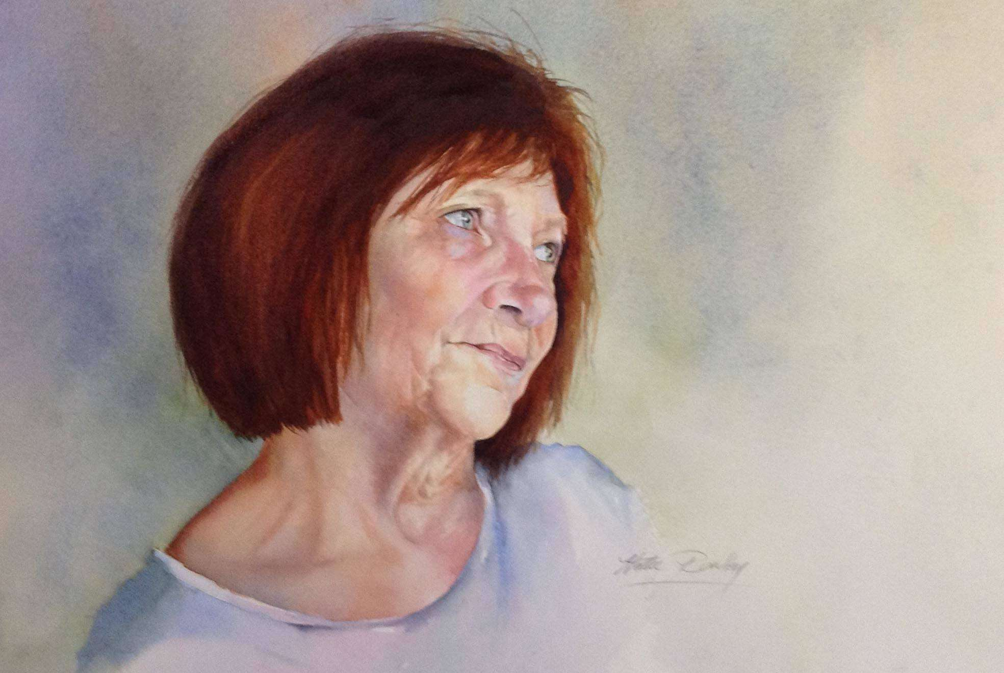 First Prize at Watercolour Society of Queensland Exhibition 2017