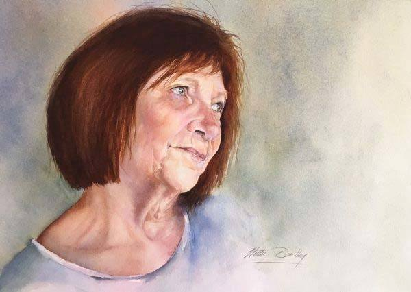 Pastel portrait of Sheila